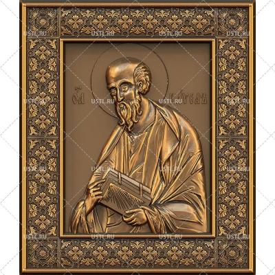 STL модель для ЧПУ Икона Святой апостол Павел RL-44