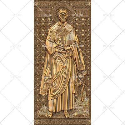 STL модель для ЧПУ Икона Святой апостол Тимофей RL-101
