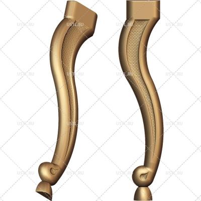 STL модель для ЧПУ Ножка мебельная MB-82
