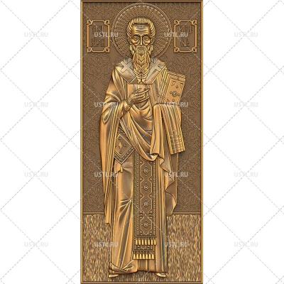STL модель для ЧПУ Икона Священномученик Симеон RL-170