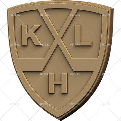 STL модель для ЧПУ Эмблема КХЛ GB-23