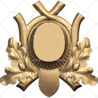 STL модель для ЧПУ Медальон под трофей MT-09