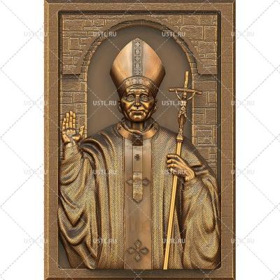 STL модель для ЧПУ Святой Иоанн Павел II RL-235