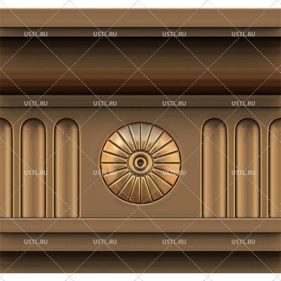 STL модель для ЧПУ Багет декоративный ML-199