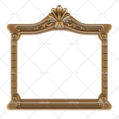 3D модель в STL формате Рама под зеркало для зеркала RM-314 для ЧПУ