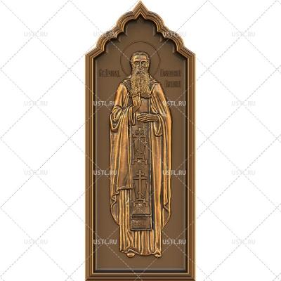 STL модель для ЧПУ Икона Иоанникий Великий RL-247