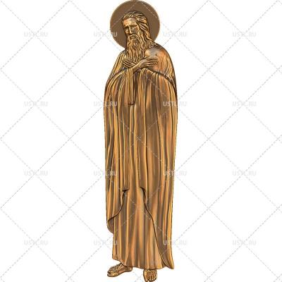 STL модель для ЧПУ Святой пророк Исаия RL-252